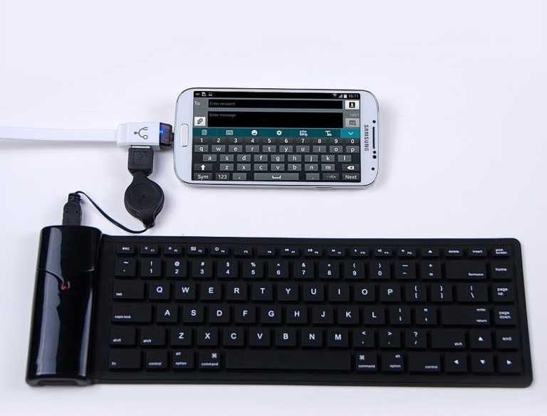 connecter android avec clavier et souris