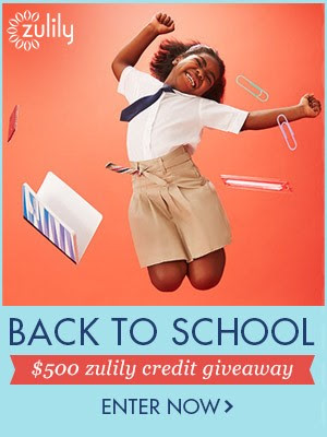 Enter to win $500 from Zulily!