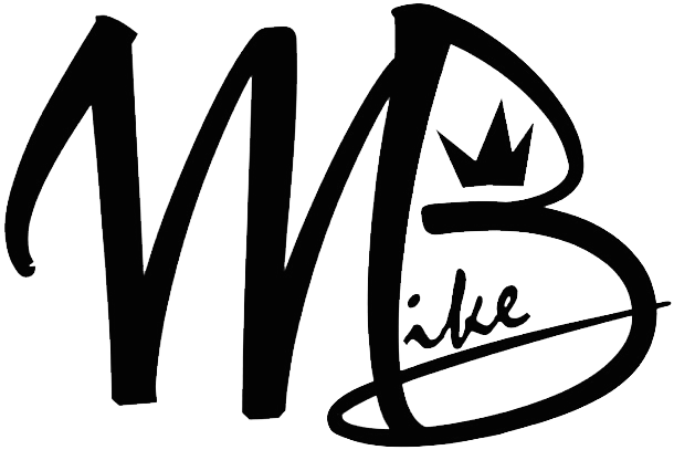 Mike B  Black Logo