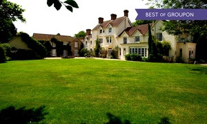 Hampshire Stay With Half Board and Golf