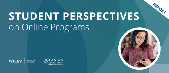 Report: Student Perspectives on Online Programs