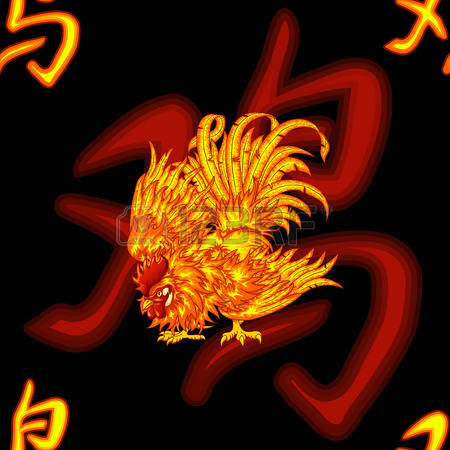56799431-fighting-fiery-red-rooster-and-the-chinese-symbol-of-a-rooster-on-a-black-background-a-seamless-pat