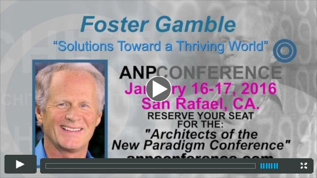Foster Gamble - Interviewed by Ron James