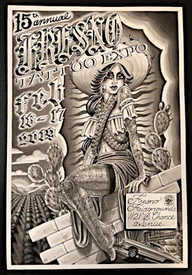 15th Annual                                                       Fresno Tattoo                                                       Expo