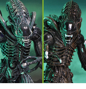 NECA ALIENS ULTIMATE WARRIOR FIGURES