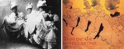 La Troupe, de Toulouse Lautrec