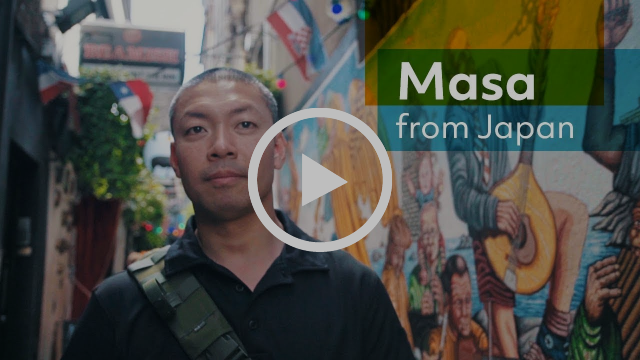 How I became more Confident Speaking in English | Masakazu From Japan