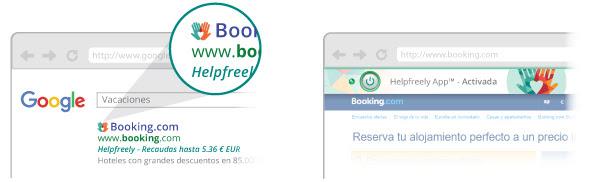 Helpfreely App™ te ayuda a recaudar
