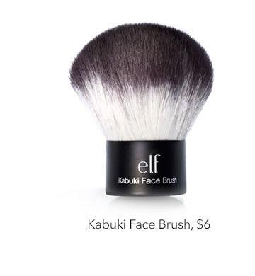 Kabuki Face Brush, $6