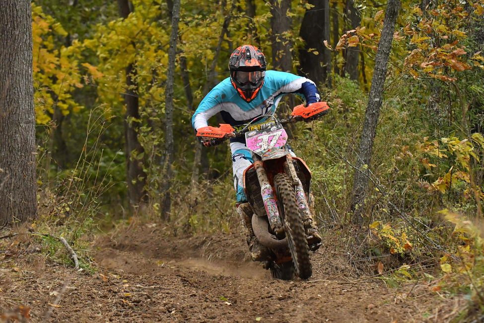 Jesse Ansley took home the final FMF XC3 125 Pro-Am class win of the season.