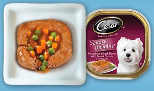 FREE Cesar Savory Delights Dog Food Entrée