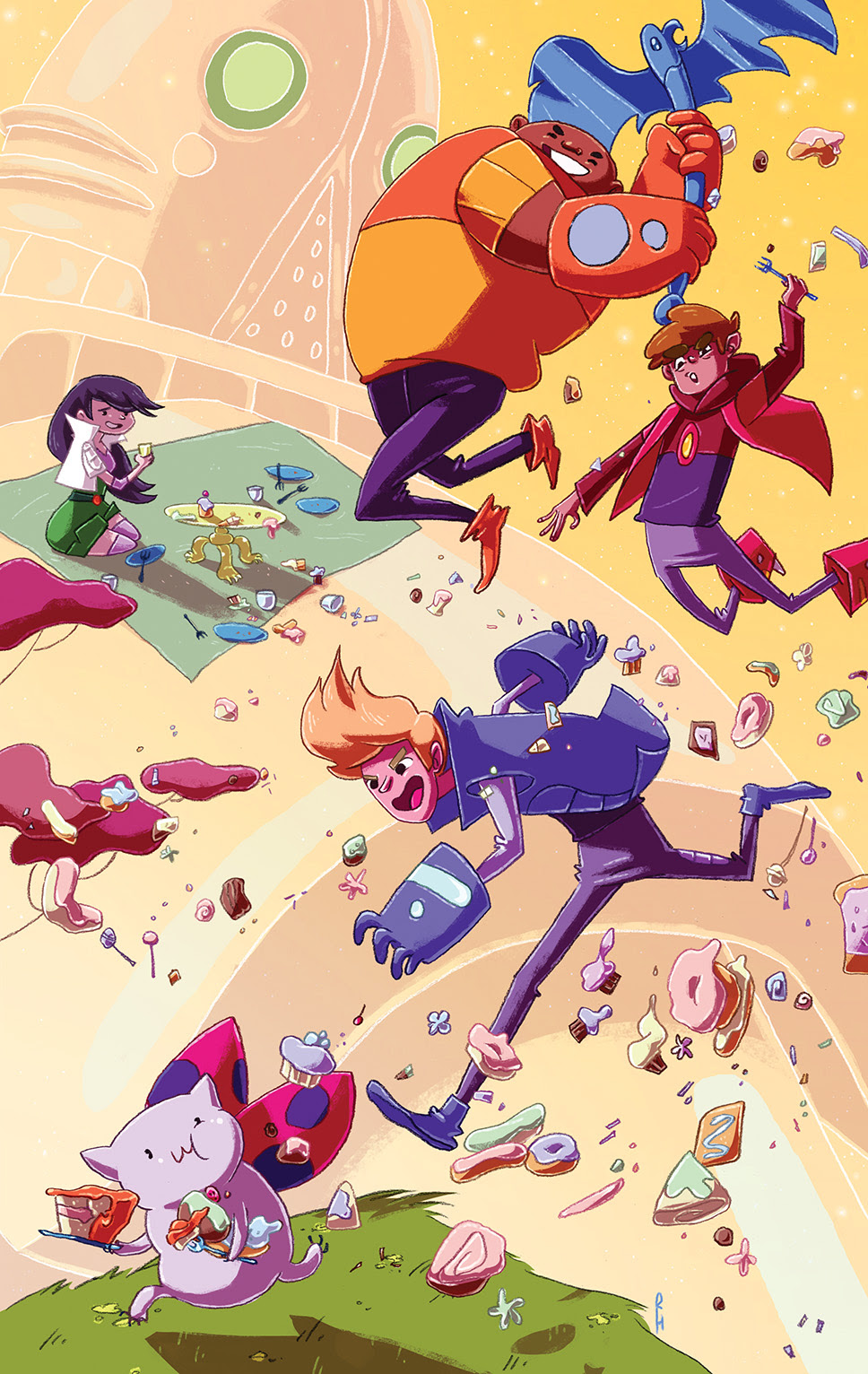 BRAVEST WARRIORS #21 Cover B by Rachael Hunt