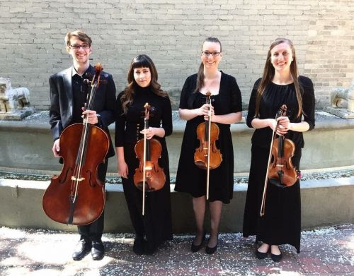 picture of the Graduate String Quartet