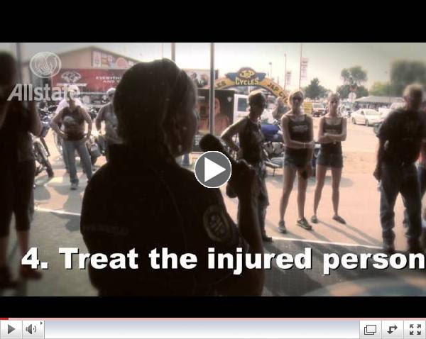 Allstate Rider Protection Project: Motorcycle Safety Demonstration Featuring Vicki Sanfelipo