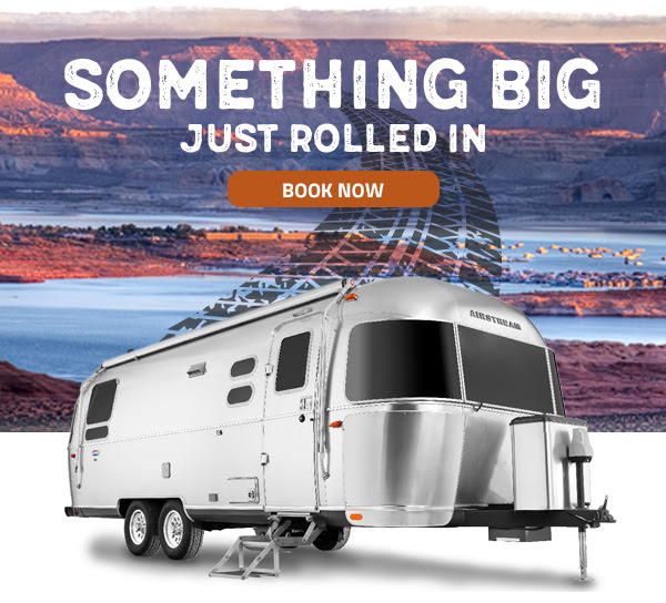 SOMETHING BIG JUST ROLLED IN. BOOK NOW.