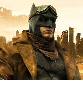 BATMAN V SUPERMAN KNIGHTMARE BATMAN 1/2 SCALE STATUE