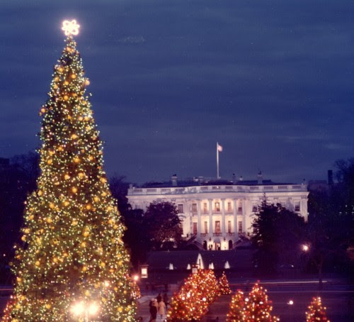 Nixon Library White House Christmas Tree Lighting The Los Angeles