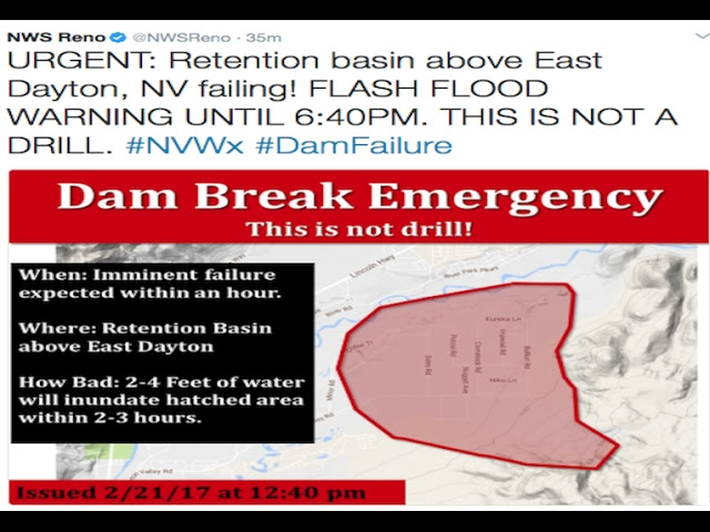"*Developing* | Dayton Nevada Evacuating | ""Dam Break Emergency!  Sddefault"