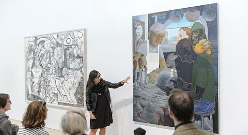 Jane Panetta addresses Achilles Heel by Nicole Eisenman