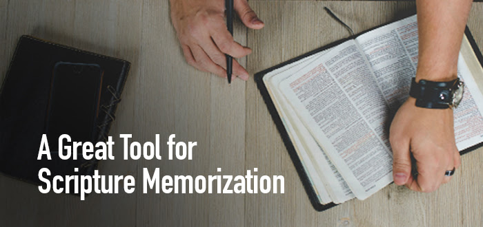 A Great Tool for Scripture Memorization