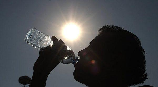Calor aumenta necessidade de hidratação.