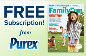Purex Family Fun Magazine #giveaway