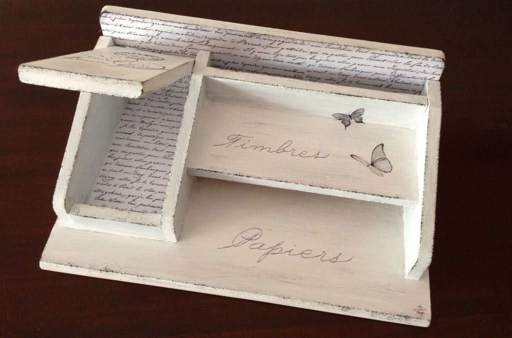 Your Inspired Design Link Party - Mail Sorter