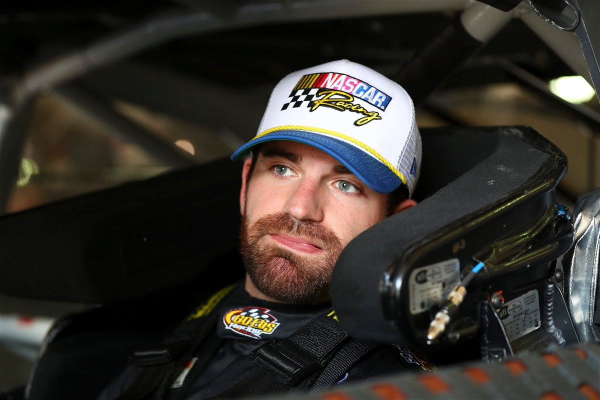Corey LaJoie during the NASCAR Cup Series