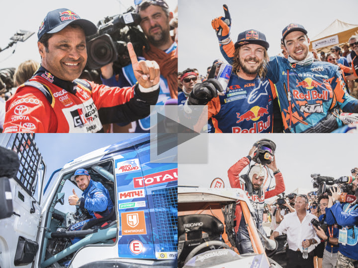 Desert dominance crowns champions in four categories at the 2019 Dakar Rally