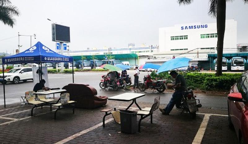 Người dân Huệ Châu mong muốn chính quyền địa phương tìm được nhà sản xuất khác thế chỗ Samsung để tiếp tục duy trì hoạt động kinh doanh.