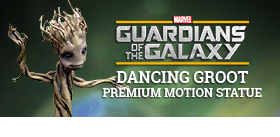 DANCING GROOT PREMIUM MOTION STATUE