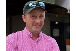 Greenwood Farm manager David Shone at the Keeneland September Yearling Sale