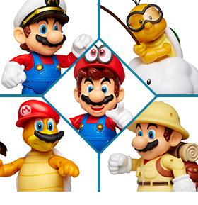 WORLD OF NINTENDO 4-INCH FIGURES