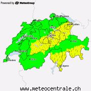 Alertes actuelles pour la Suisse