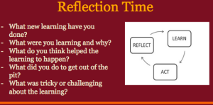 Learning Reflection after Ignite presentation.