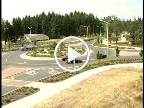 Driving Modern Roundabouts