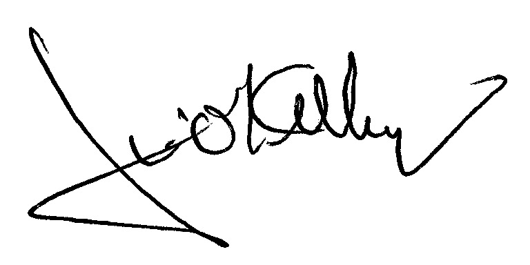 Jim O'Kelley Signature