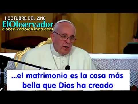 Resultado de imagen para papa francisco guerra mundial contra el matrimonio