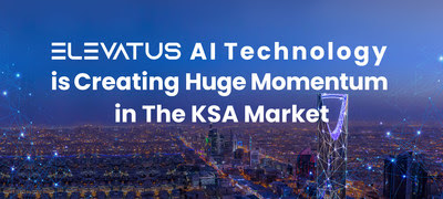 Elevatus' AI technology is creating huge momentum in the KSA market by supporting Vision 2030 with its advanced AI solutions.