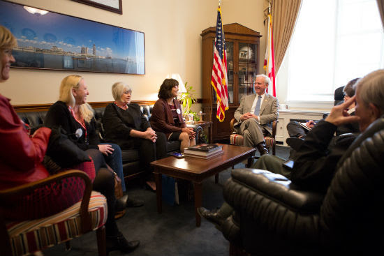 Sentinels meeting with Rep. Byrne (R-Ala.)