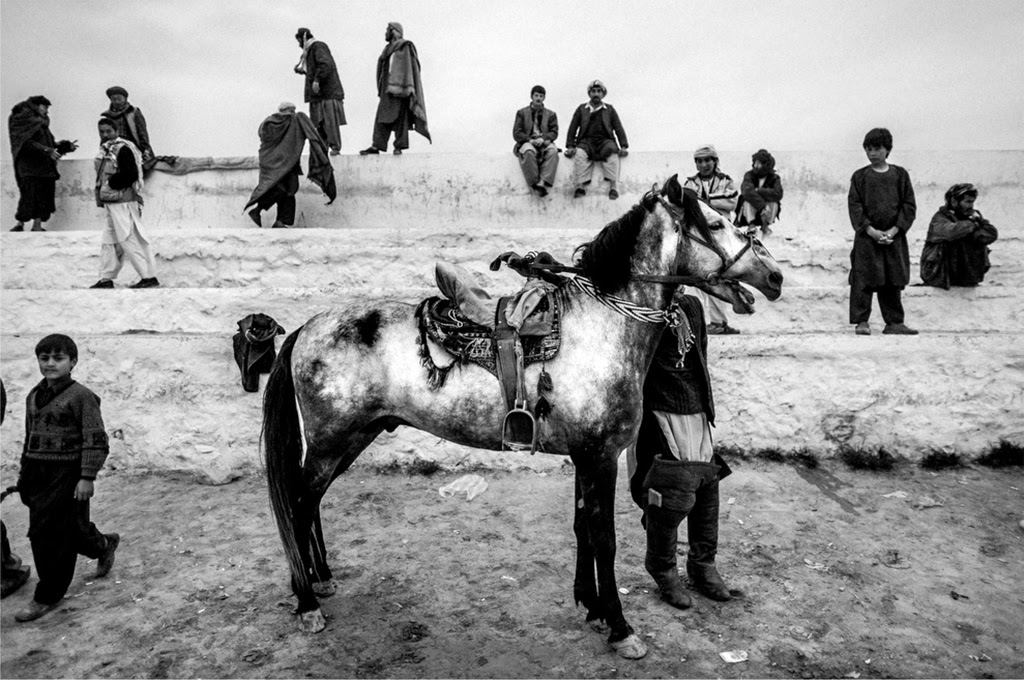 Photo: Buzkashi Square, Mazar Sharif City, Nord dell'Afghanistan. © Majid Saeedi