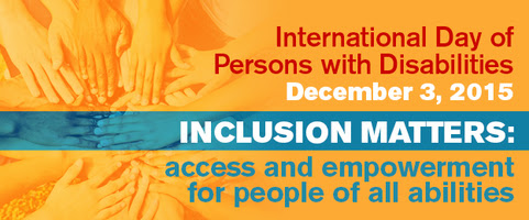 Inclusion matters: access and empowerment for people of all abilities