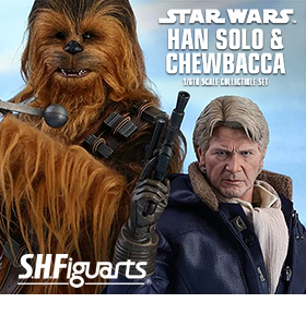 STAR WARS 1/6 SCALE HAN SOLO & CHEWBACCA