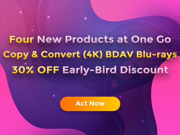 DVDFab 4k Blu-ray Recorder Copy Ripper Discount Coupon