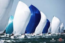 J/70s sailing Worlds off La Rochelle, France