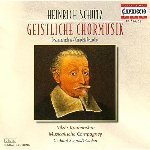 Schutz, H.: Geistliche Chormusik
