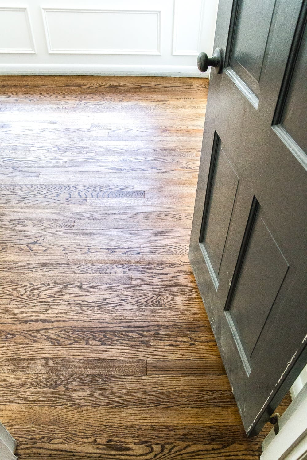 Minwax Provincial Stain + step-by-step guide for refinishing hardwood floors