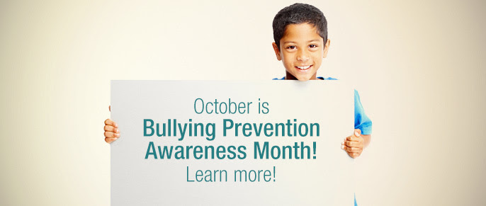 October is Bullying Prevention Awareness Month