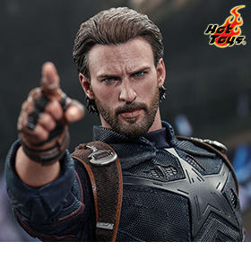 INFINITY WAR MMS481 CAPTAIN AMERICA 1/6 SCALE FIGURE