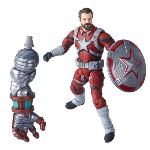 Image of Black Widow Marvel Legends 6-Inch Red Guardian Action Figure (Crimson Dynamo BAF)- APRIL 2020